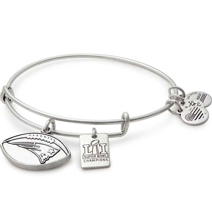Alex and Ani New England Patriots Super Bowl 51 Champions Charm Bangle at The Paper Store