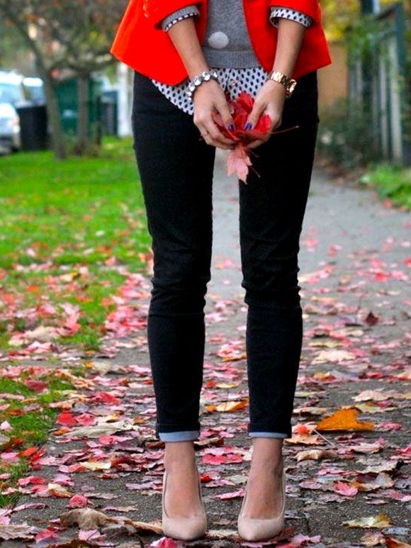 Fashion Fix: rode blazer
