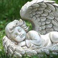 photos of angel garden statues - Google Search