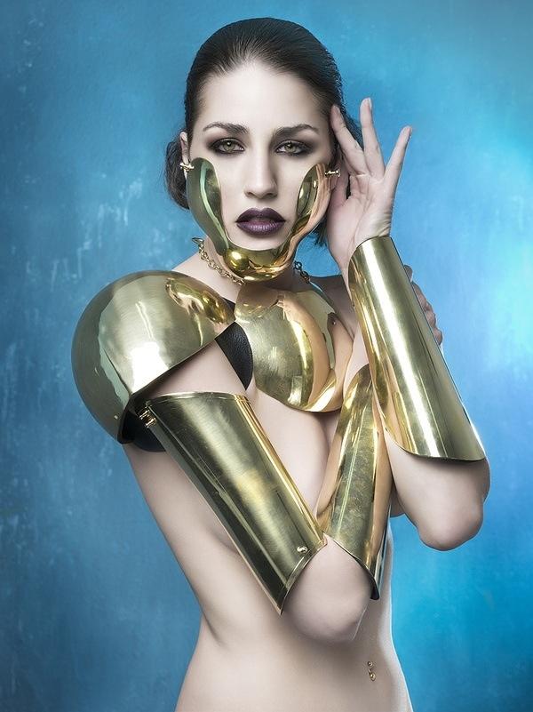 Gold Armour Body Adornment