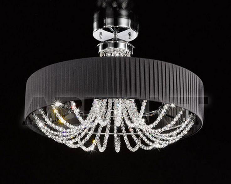 Люстра черная Kolarz FLO.1097/PL60 03T-BL , каталог осветительных приборов: фото, заказ - ABITANT , Москва
