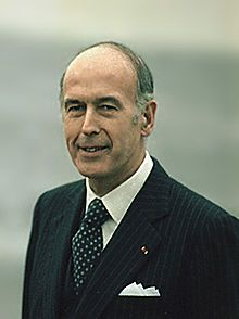 Valéry Giscard d'Estaing in 1978.  20th President of France  In office  27 May 1974 – 21 May 1981