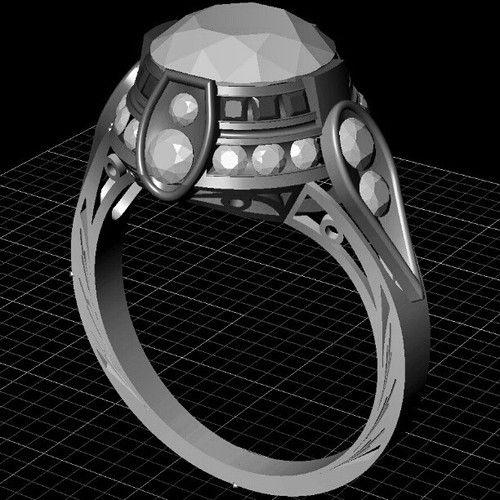 Another antique remake. #tw #jewelrydesign #cadcam #matrix7 #gemvision #justinwellsjewelry #remakeantique