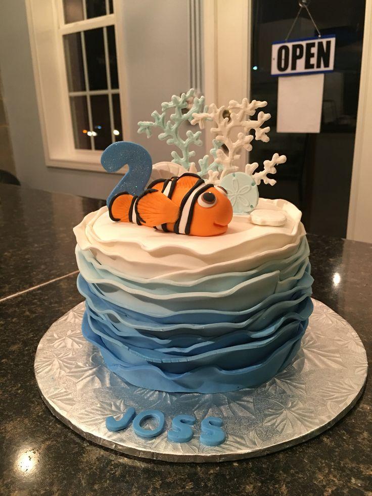 dory finding nemo cake third birthday birthday cake amazing cakes ...