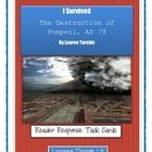 I SURVIVED THE DESTRUCTION OF POMPEII, AD 79 * Higher-order, quality questions from each chapter, including content and academic vocabulary.  * Perfect for partner/group discussions, literatur...