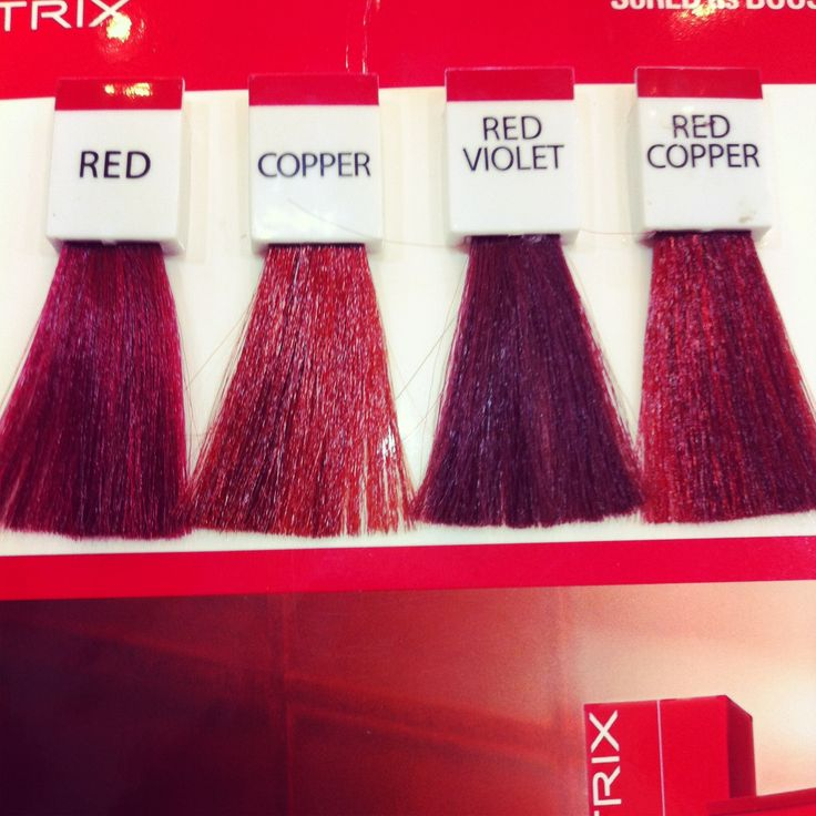 Matrix Hair Dye Range No Bleaching Needed Mine Was A Mix Of The Red And Red