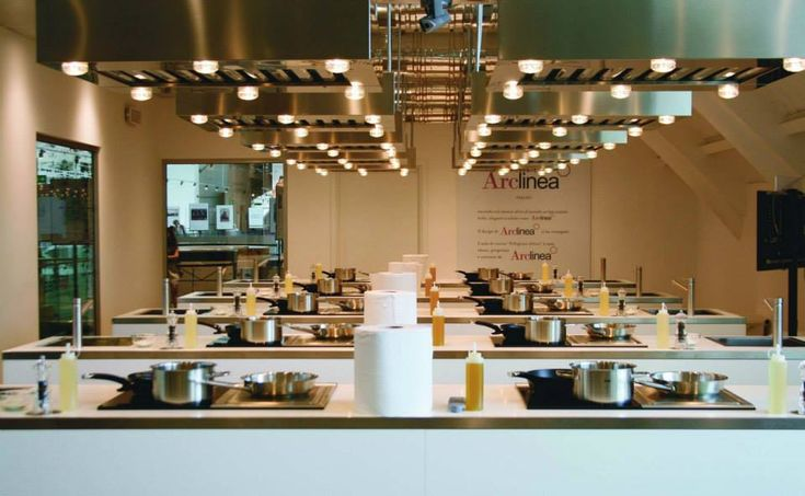 Classroom Kitchen Design : Arclinea eataly the world s biggest is in rome
