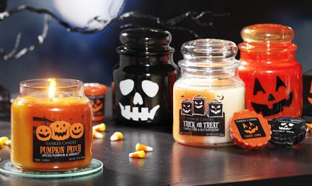 yummy yankee candles----yea fall!!!