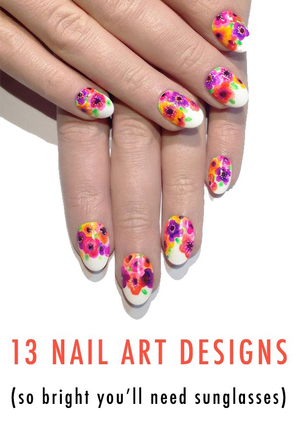 Move aside Lincoln Park After Dark! Color is here, and it's in the form of nail art! If you ever wanted to have skittle colored nails then these photos will give you incredible inspiration. From vibrant hues to intricate details, we have them all for you.