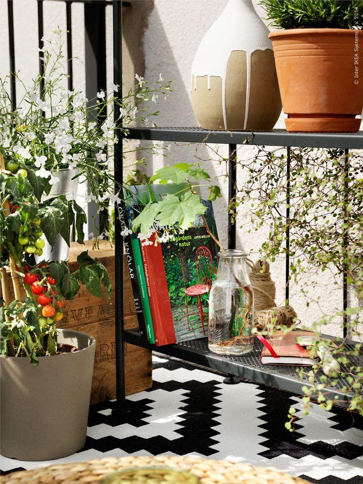 balkong ikea livet hemma inspirerande inredning fr hemmet - Garden Ideas Ikea