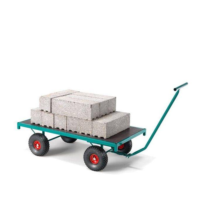 W łatwym przewożeniu narzędzi i innych sprzętów z miejsca na miejsce pomogą wózki transportowe. Koła do wózków wykonano z nylonu, co zapewnia lekkie toczenie nawet na twardych i nierównych podłożach.  https://www.ajprodukty.pl/wozki-transportowe/6212711.wf