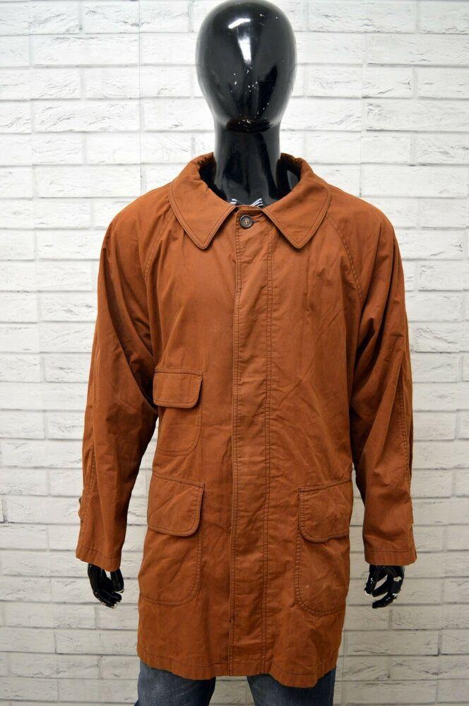 88ea0460ac Dettagli su Cappotto BROOKSFIELD Uomo Taglia 60 Giacca Jacket Made ...