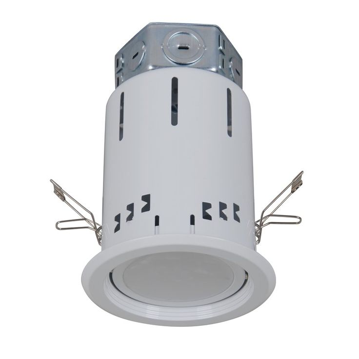 Utilitech Pro White LED Remodel Recessed Light Kit (Common: 4-in; Actual: 5-in) | Lowe's Canada
