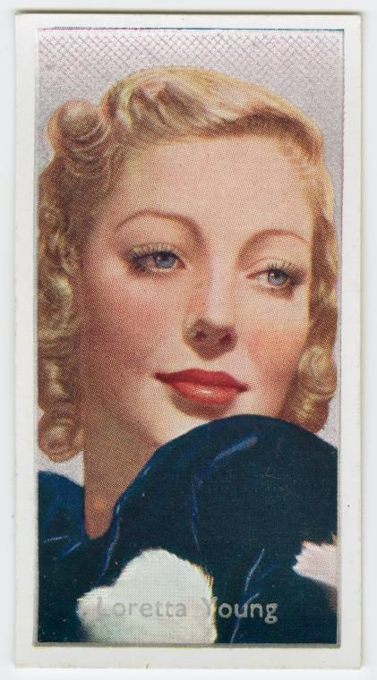 Loretta Young (20th Century-Fox Player).