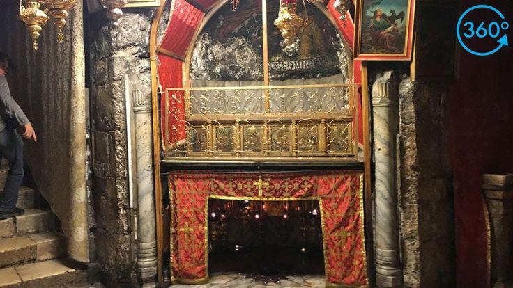 360: Real-Life Nativity Scene In Bethlehem