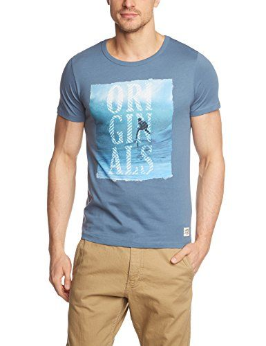 JACK & JONES Herren T-Shirt JJORTaste Tee SS Crew Neck, Einfarbig, Gr