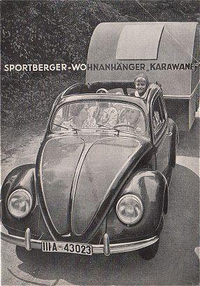 VW - 1942 - Sportberger Wohnanhänger Karawane - [1293]-1
