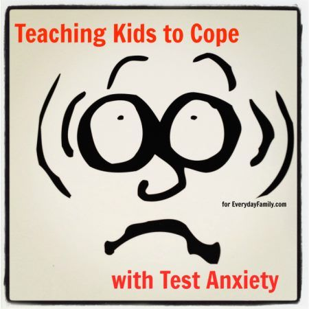 It's essential to teach kids how to cope with test anxiety so that they can manage their emotions instead of freezing up during tests.