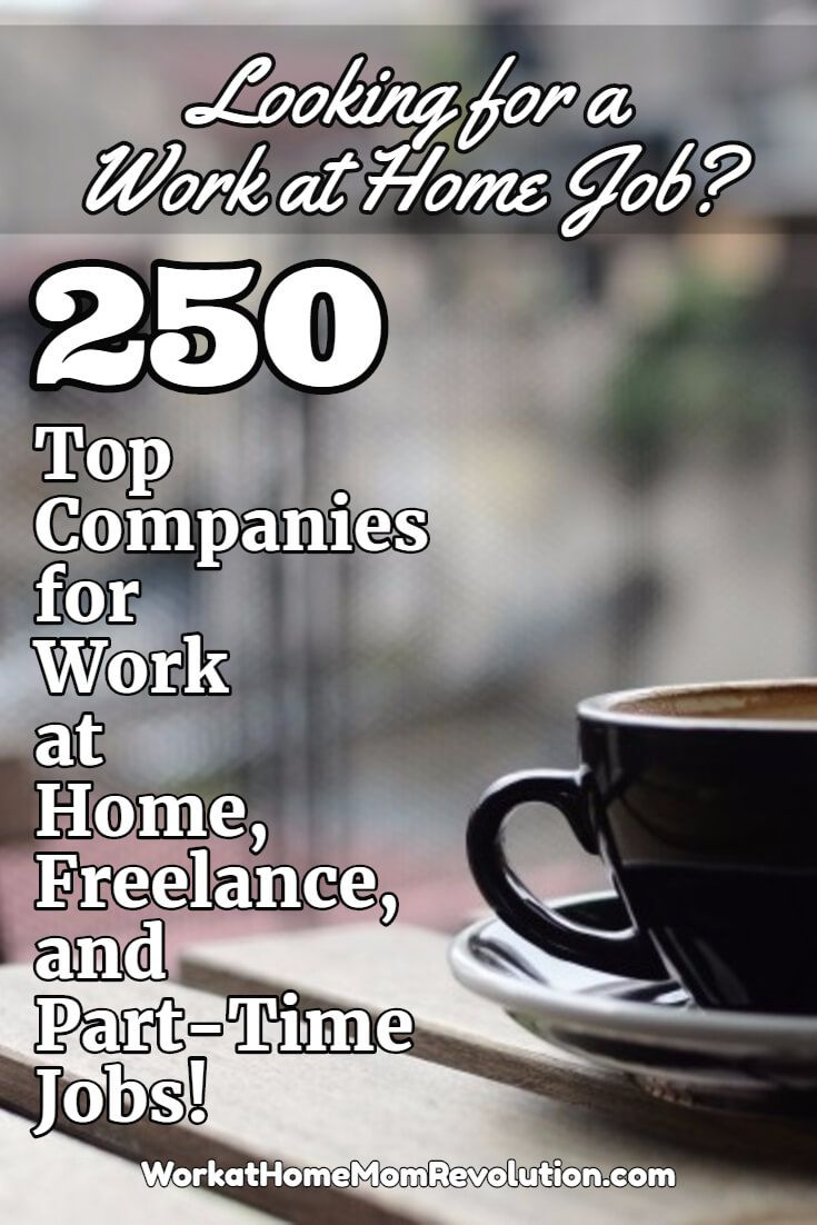 top ideas about work at home jobs work from home 250 companies hiring work at home part time and lance workers