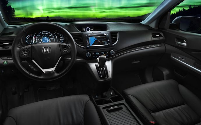 Loaded with conveniences and high-tech touches, the CR-V is fun for everyone onboard. Has Rear Entertainment available for 2014!