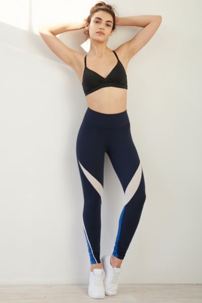 Nike Legendary Fabric Twist Veneer Legging - Urban Outfitters
