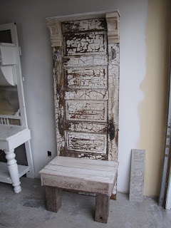 Old door screen door table legs bread box shutters for Furniture 63366