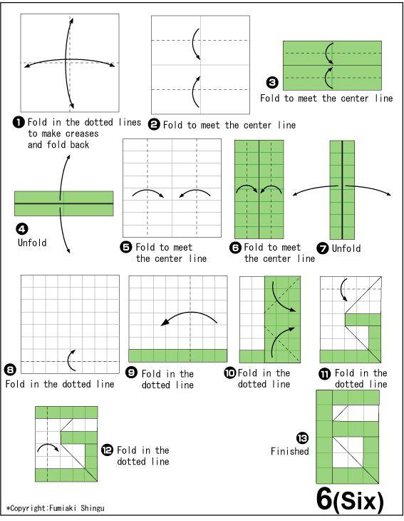 Origami 6(Six)