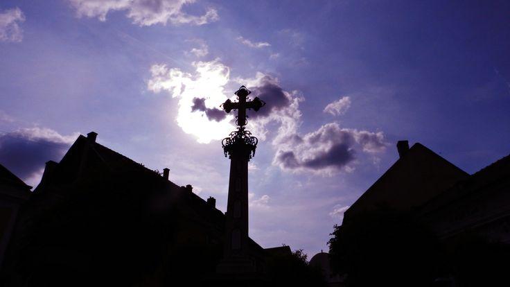Szentendre,Hungary  #cross #Hungary #sun