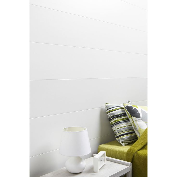 Lambris PVC blanc ARTENS L.400 x l.37.5 cm x Ep.10 mm | Leroy Merlin