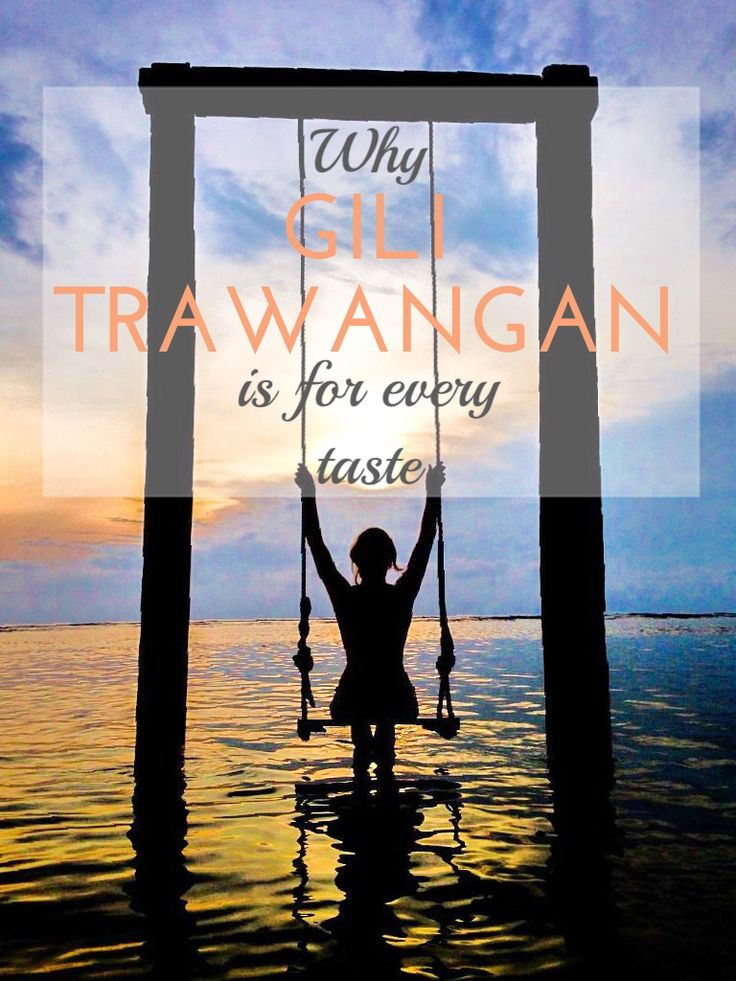 There are few travel destinations offering so much on so little space like #GiliTrawangan