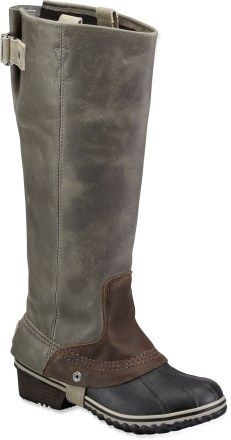Sorel Slimpack Riding Rain Boots - Women's LOVE these boots. Just waiting for them to restock my size...