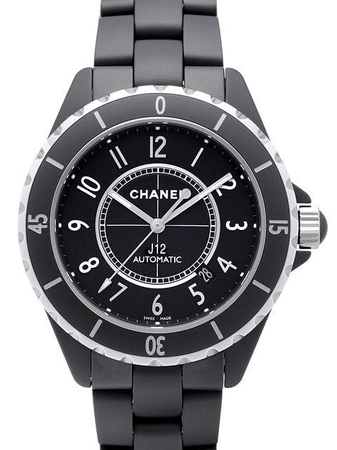 Chanel J12 Mattschwarz Automatik 42mm Ref. H3131