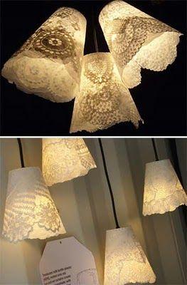 Iluminação com Garrafas Pet