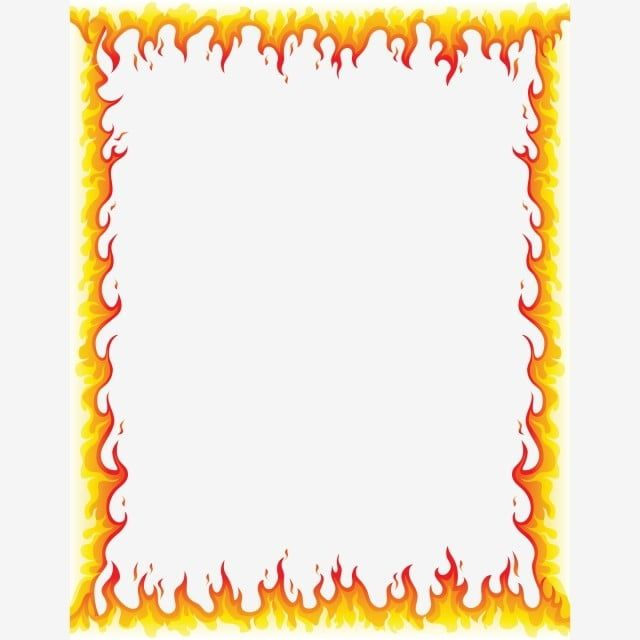 Abstract Fire Frame Fire Flame Vector Png And Vector With Transparent Background For Free Download Prints For Sale Free Vector Graphics How To Draw Hands