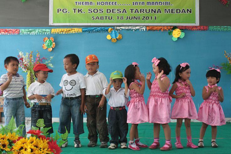 pentas seni murid TK SOS CV Medan