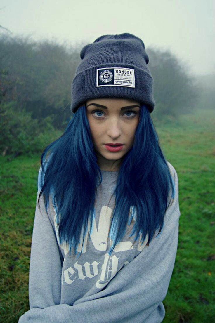 32 Important Life Lessons Dark Blue Hair Color Taught Us Dark Blue