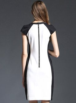 Shop for high quality Brief Back Zipper Pocket Skinny Dress online at cheap prices and discover fashion at Ezpopsy.com