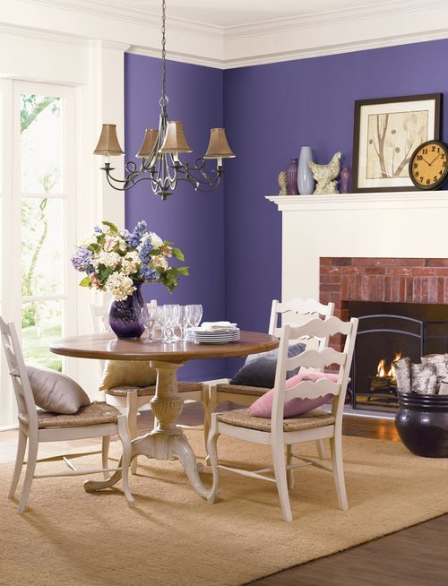 25 best ideas about purple dining rooms on pinterest for Suggested paint colors for living room