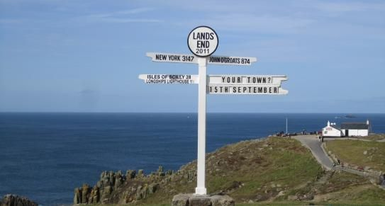 Lands End   West Cornwall