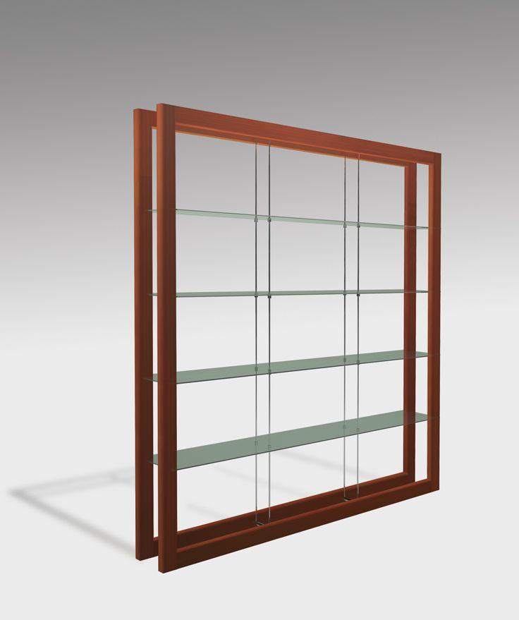 Tesa bookshelf - design Riccardo Beretta - deMIlan