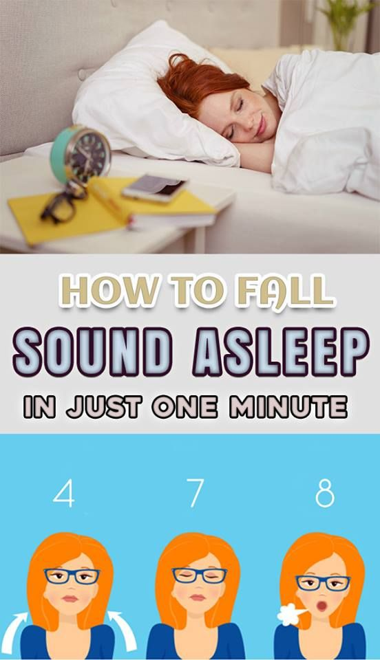 HOW TO FALL SOUND ASLEEP IN JUST ONE MINUTE?