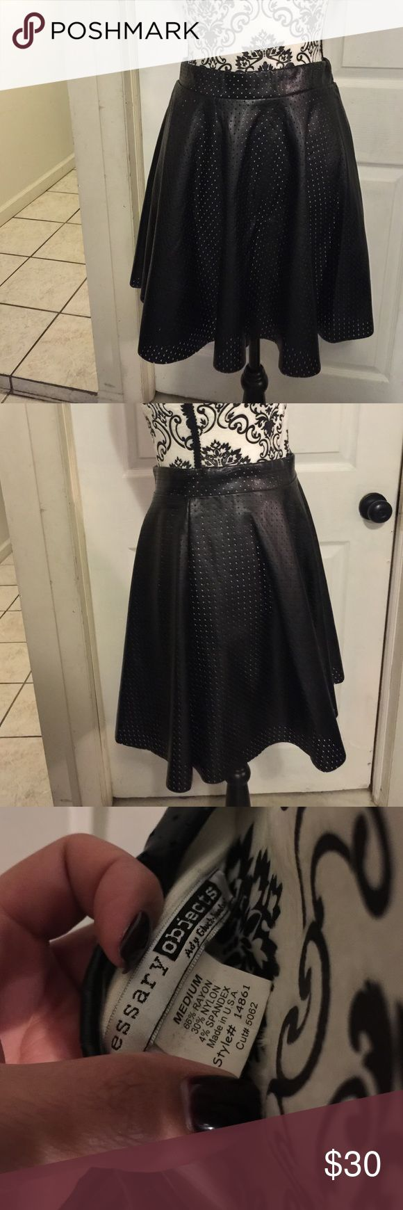 Black Skirt Skirt isn't tight fitting loose and goes cute with bodysuits. Skirts Mini