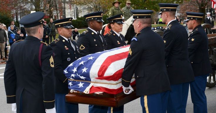 Capt. Thomas J. Hudner Jr. Korean War Medal of Honor Recipient Naval Aviator Passes Away  By Mass Communication Specialist 3rd Class Casey Scoular USS Constitution Public Affairs Office  Concord Mass. (Nov. 15 2017) The Military Funeral Honors Team of the Massachusetts Army National Guard carries the casket of Medal of Honor Recipient Capt. Thomas J. Hudner Jr. during a funeral procession in Hudners honor. Hudner a naval aviator received the Medal of Honor for his actions during the Battle…