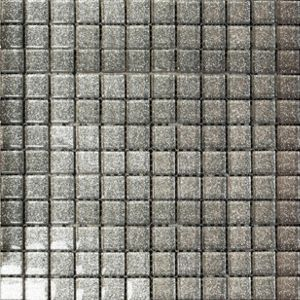 Ruby Grey Sparkle Mosaic Tiles - 300 x 300mm