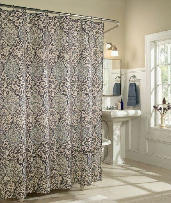 Curtain Ideas  Silver shower curtain bed bath and beyond Bathroom 49 best curtains images on Pinterest