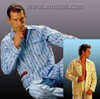 Выкройка мужской пижамы Брюки