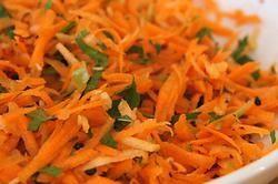Mauritian Carrot, Cucumber and Mango Salad