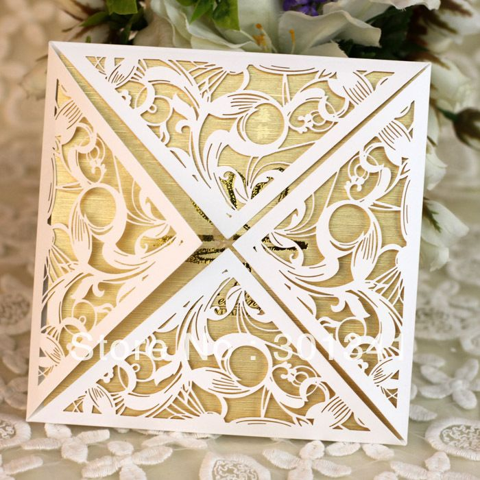 EA210   2013 newest laser cut wedding invitations-in Crafts from Home & Garden on Aliexpress.com