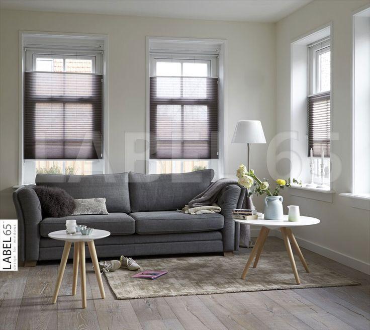 Kies een kleur plisse gordijn dat past bij uw interieur, zo zorgt u voor een rustige uitstraling in huis.