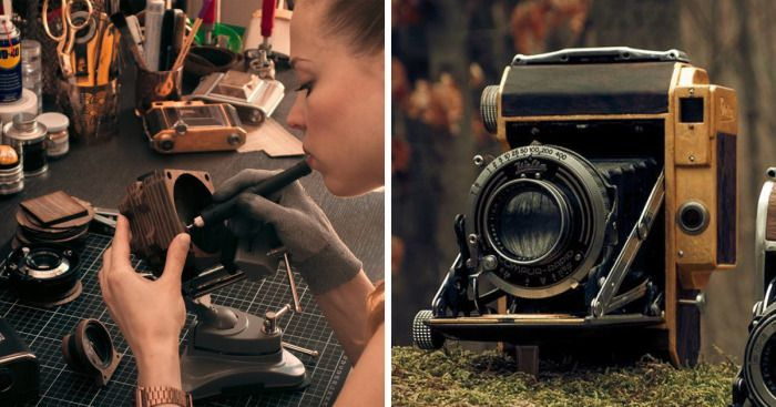 I Make Vintage Cameras On My Own | Bored Panda